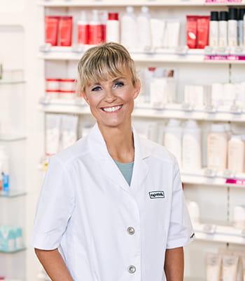 Farmaceut på apoteket